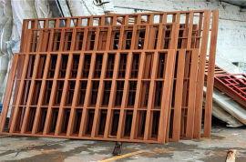 金属木纹铝窗花几大优点 铝合金窗花有哪些厂家