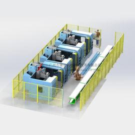 RGV-CNC加工中心生产线 工业自动化设备定制