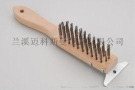 高檔鋼絲刷 美式不鏽鋼絲刷(荷木)