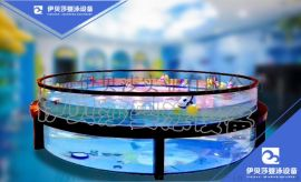 浙江舟山婴儿钢化玻璃游泳池