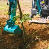 手扶开沟机 热销小型挖掘机农用 六九重工 小型农用