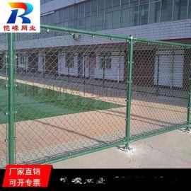 昆明组装式墨绿色球场围栏网产地货源