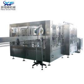 全自动热灌装 奶制品热灌装机 饮料三合一生产线