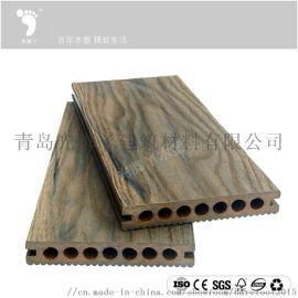 小区走道防腐耐用户外木塑地板