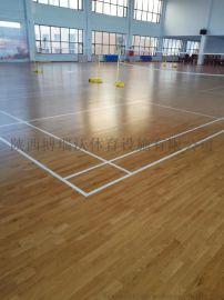 木地板羽毛球场, 羽毛球场木地板材料单价