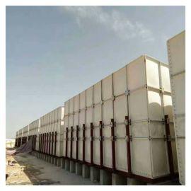 日喀则玻璃钢沉淀水箱 装配式搪瓷钢板水箱