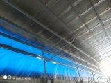 牛场卷帘帆布,养殖场卷帘布