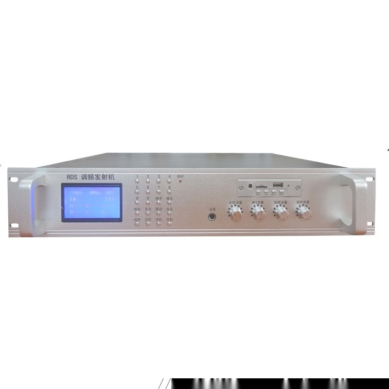 100W調頻發射機,廣播工程音響,校園廣播