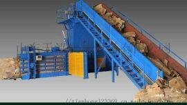 全自动废纸打包机厂家 液压稻草打包机厂家