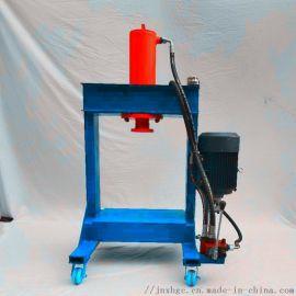 汽车后桥钢板调直电动压力机 50吨油压电动压力机