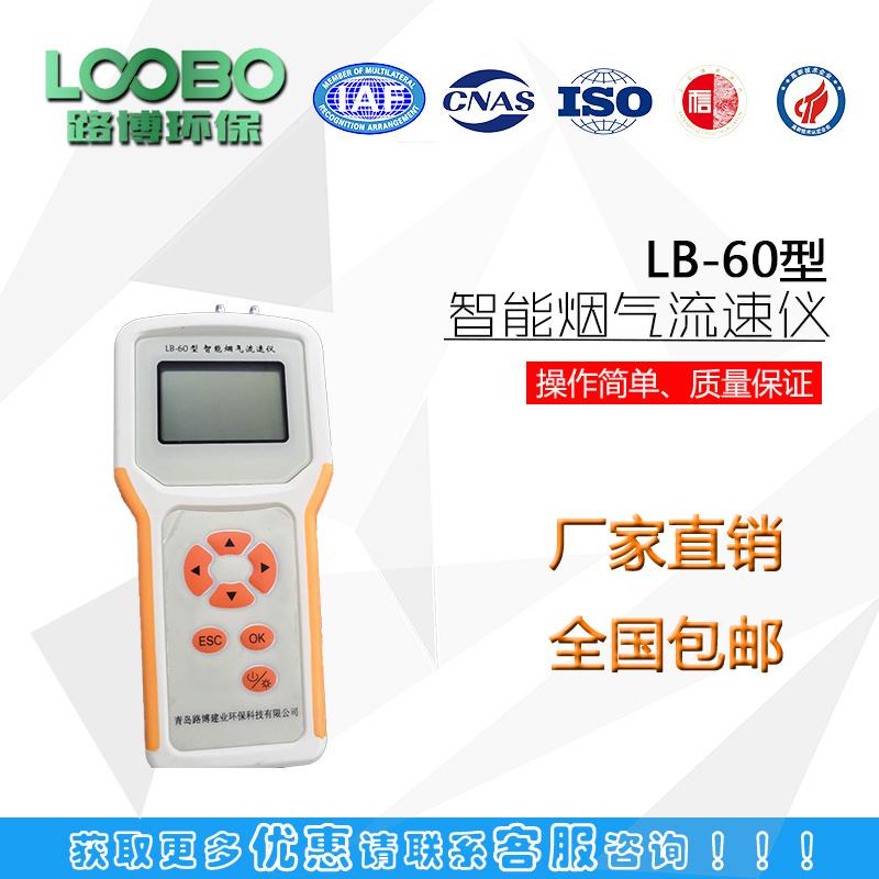 LB-60型便携式自动烟气流速仪