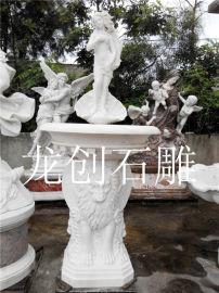 园林古建石雕喷泉 欧式石雕喷泉