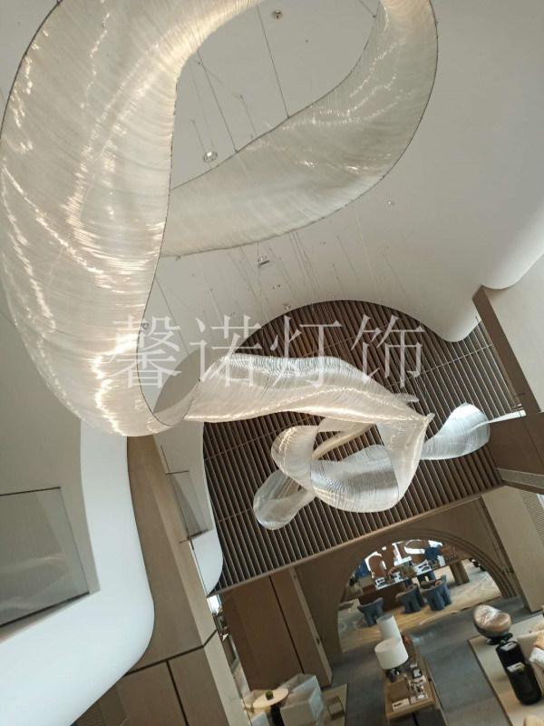 非標工程燈定製 售樓部沙盤燈 南昌某售樓部項目
