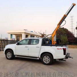 1吨-1.8吨皮卡吊 车载液压小吊机