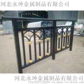 永坤锌钢单向双向防攀爬围栏阳台园艺护栏