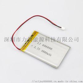 606090耐高温高倍率聚合物锂电池 4000mAh摄像灯行车记录仪锂电池