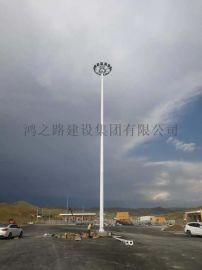 湖南长沙广场20米30米升降式高杆灯可定制