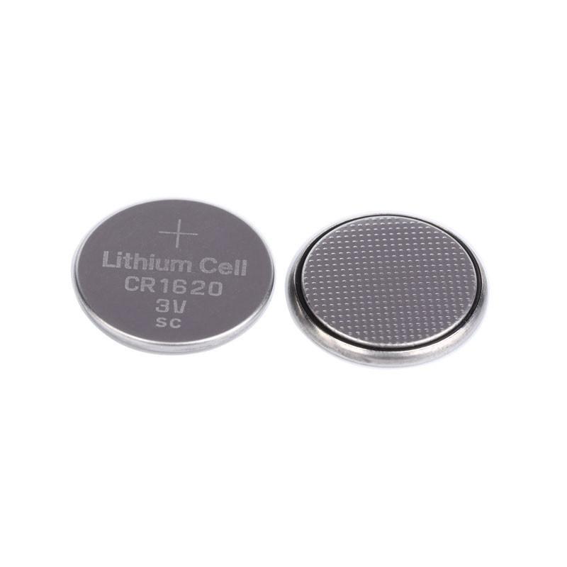 汽车钥匙遥控小型玩具3V锂锰纽扣电池CR1620