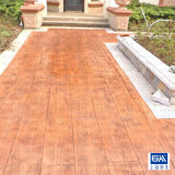 水泥仿木 彩色水泥仿木地面 水泥仿木地坪