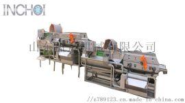 卧式涡流螺旋清洗机高效优质洁净灭菌蔬果清洗机
