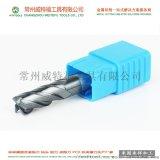 45度4刃螺旋硬質合金銑刀定製 非標鎢鋼銑刀廠家