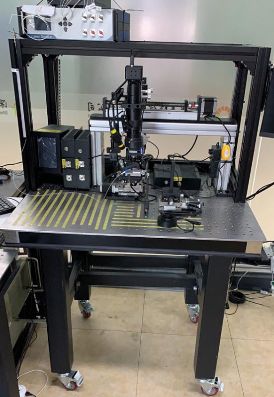 平面光波导对准封装系统 PLC自动耦合设备