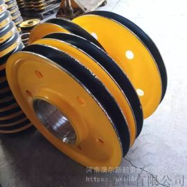 起重机用轧制滑轮组  矿井提升滑轮组