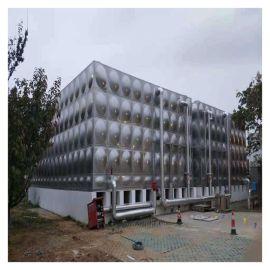 不锈钢简易消防水箱生产厂 沙河人孔水箱