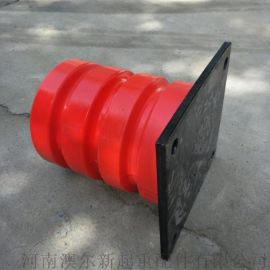 C型带钢板缓冲器 聚氨酯缓冲器 行车减震防撞装置