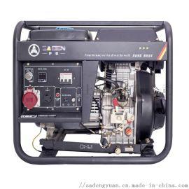 6千瓦三相开架家用风冷柴油发电机