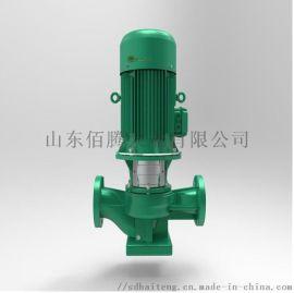 冷热水立式不锈钢多级泵 楼房自来水管道增压离心泵