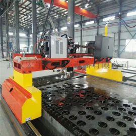大型重型龙门式数控等离子切割机HL-4260全自动钢板切割机