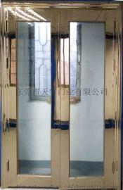 防火不锈钢304防火玻璃门 广东防火玻璃门