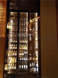 不锈钢酒柜酒架,不锈钢酒架