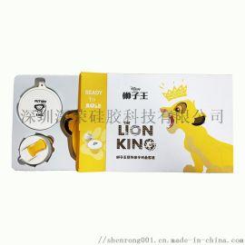 定制各种印刷产品硅胶狮子王系列套装