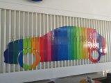 天津企业形象墙设计 公司LOGO墙定制 创意新颖