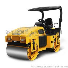 4吨全液压单钢轮小型压路机.园林绿化作业