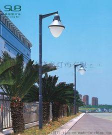 户外街道庭院灯单头铝制高杆灯别墅庭院照明路灯