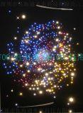 閃點喜慶炫酷彩燈 彩色流光發光線 走馬閃耀發散線