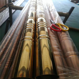 40mm铝合金竹管 30mm仿木纹竹管 纹路清晰