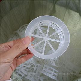 环保脱 塔聚丙烯双层阶梯环DN76PP阶梯环现货