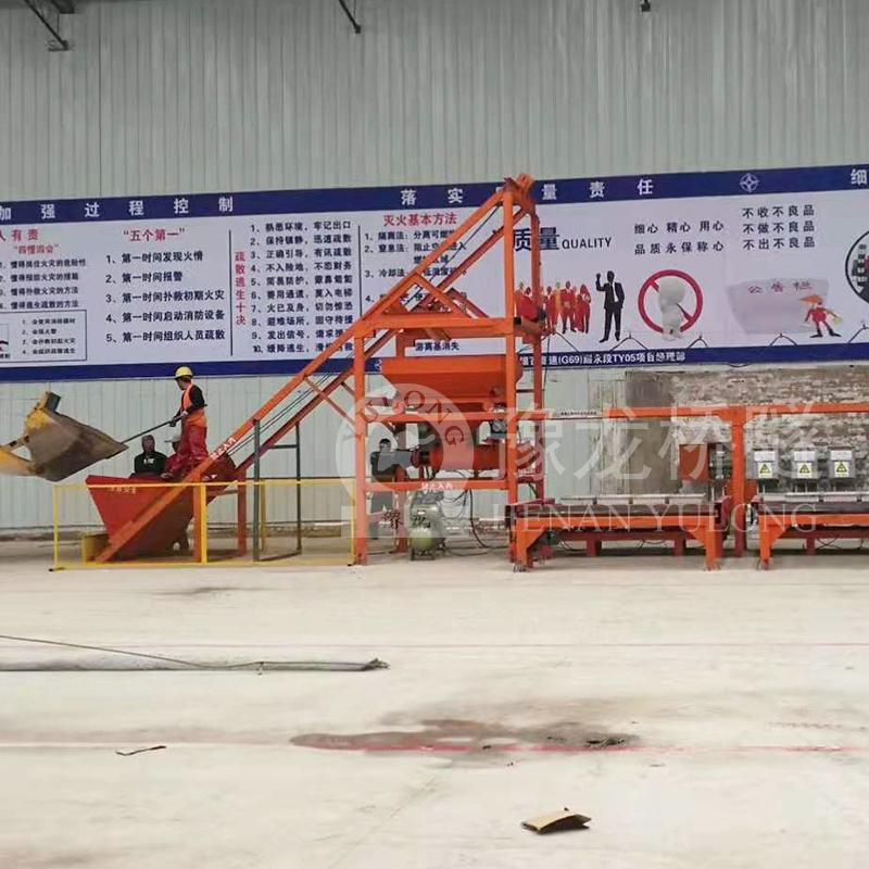 黑龙江省齐齐哈尔护坡六棱块小型预制构件生产线厂家直销