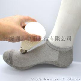 银纤维  杀菌导电袜子