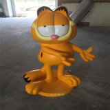玻璃鋼卡菲貓雕塑 商場美陳卡通玩偶雕塑