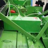 河南麥秸打捆機 全自動秸稈牧草撿拾打捆一體機