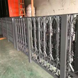 公路防火铝合金护栏 花园仿古铝合金护栏