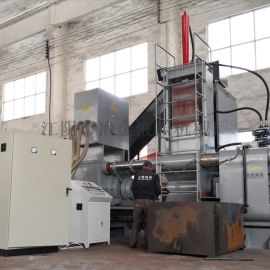 金属液压压块机  立式、卧式铁屑压块机