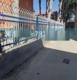 PVC塑钢草坪护栏 公园绿化隔离栅栏 庭院花坛景观围栏送货上门