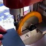 染邊機上油着色機廠家直銷單邊油邊機皮革染色機