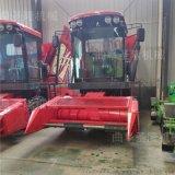 秸稈粉碎青貯機,青貯飼料收穫機,輪式地滾刀青儲機